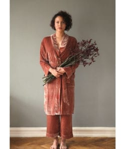 Home Wear Silk Velvet